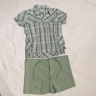 Green/shirt/flanel