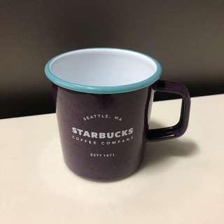 Starbucks Enamel Heritage Mug