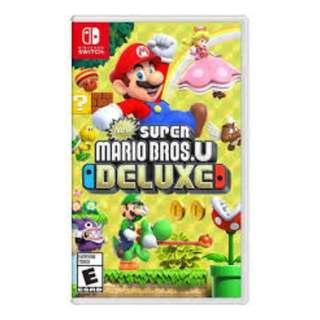 Super Mario U Deluxe - Switch