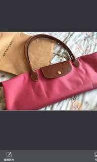 倫敦買回來的Longchamp Bag pink