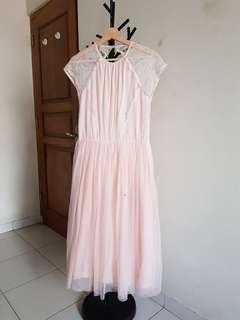 Asos Bridesmaid Midi Tutu Dress