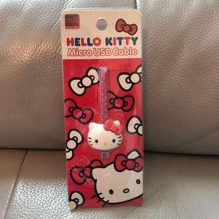 韓國正品Hello Kitty數據線 / USB極速充電線