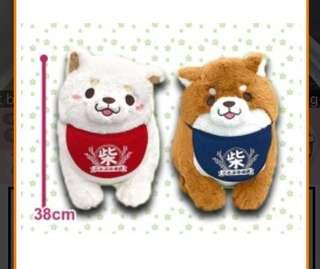 White Shiba Inu Plush (left one)