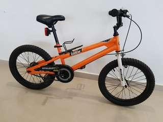 "Children bike. 18"" wheel size."