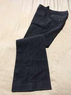 GG5 slight boot cut grey pants