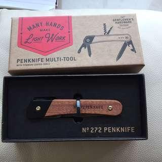 Gentlemen's Hardware no.272 penknife multi-tool 英國品牌萬用刀