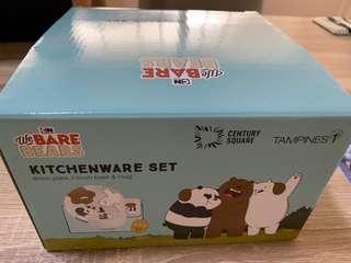 Kitchenware set We Bare Bears