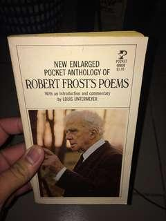 Anthology of robert frost poems