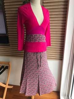 🚚 Flirty Summer Skirt & Blouse set