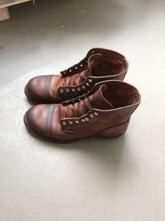 🚚 Red wing iron ranger