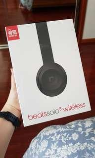 Beats Solo³ Wireless (Matte Black) - BRAND NEW & UNOPENED