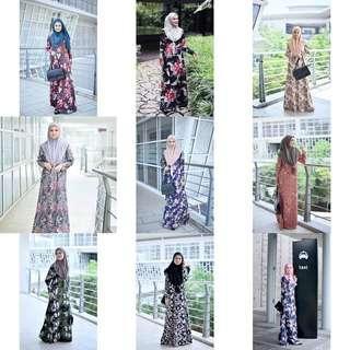 🚚 AIRIS JUBAH jubbah jubba juba abaya abayah blouse peplum tunic dress