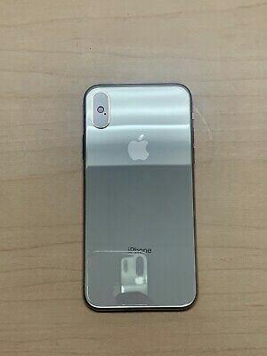 1/5 Apple iPhone X - 64GB - Silver (Unlocked) A1865 (CDMA + GSM)