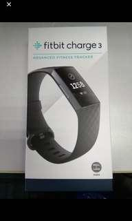 Fitbit charges 3 black