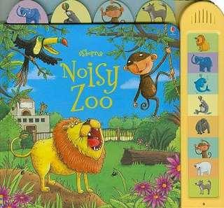 BRand new Usborne Noisy Zoo Book