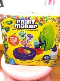 Crayola Paint Maker 水彩顏色製造
