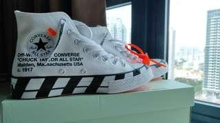 737c2db71016 UK 7   US 8 Off White Converse