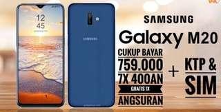 Samsung Galaxy M20 dp 760rb