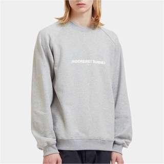 🚚 義大利品牌 Sunnei men's gray jadorerei sweater 灰色 長袖 上衣