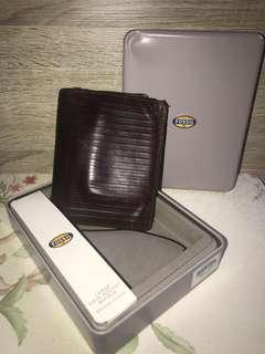 Fossil Avery Dark Brown wallet
