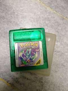 Gameboy Pokemon Crystal Version