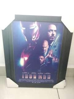 Original Ironman movie framed poster