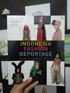 Buku Indonesia Fashion Reportage Indonesia Fashion Week IFK Books