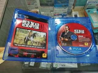 Ps4 red dead redemption 2 used R3