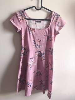 Cotton On Purple Mini Dress
