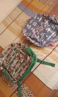 Twinning boy and girl cath kidston bags