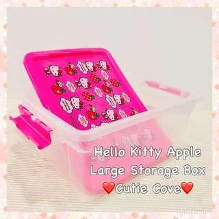 *IN STOCK IN SG* Hello Kitty Large Apple Storage Box