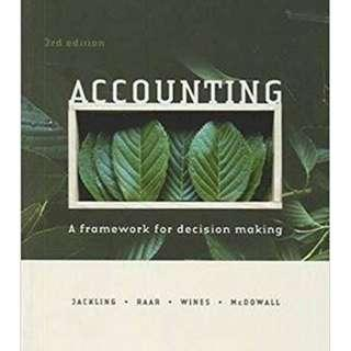 Accounting: A Framework for Decision Making