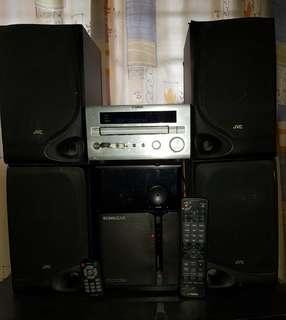 #1. Yamaha DRX-730 Mini Hifi (SOLD)/Active Subwoofer/Speakers