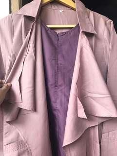 Saiara blouse dusky pink