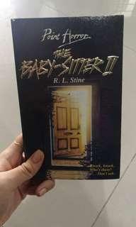The babysitter 2 book