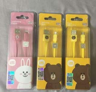 🆕Line cable for iPhone and android