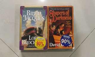Lord Brocktree ans Shapers of Darkness fantasy books