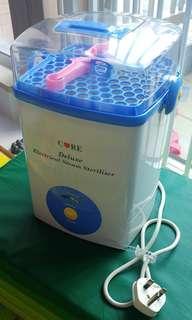 Core 蒸氣奶瓶消毒機 Deluxe Electric Steam Steriliser