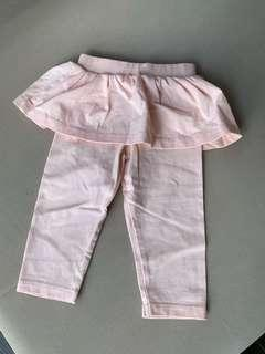 🚚 M&S peach pants baby girl 6-9 months