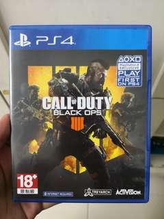 Call of duty black ops 4 PS4 game bo4