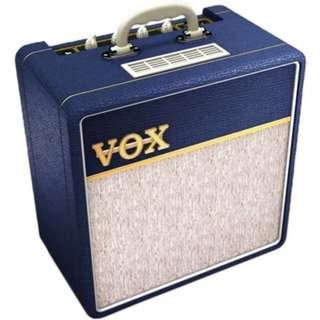 CLEARANCE - Vox AC4C1-BL Tube Combo Amplifier for Electric Guitar