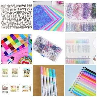 🚚 Craft supplies grab bag
