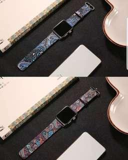 Apple iWatch 1/2/3 Leather Watch Strap with Printing
