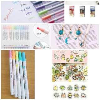 🚚 Stationery supplies grab bag
