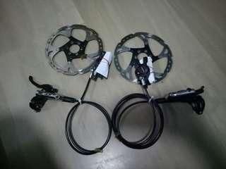 XT Brake with Ice Tech Rotor 180mm