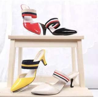 Pump high heels wanita ML01