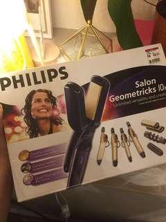 Philips Ceramic Hair Curler/Straightener Set