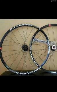 "RXR RW3 120 engagement 27.5"" wheelset for hardtail mountain bike - lightweight"
