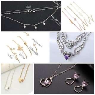 🚚 Women's accessories (necklace, bracelet)grab bag