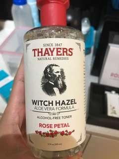 🚚 Thayers witch hazel alcohol free toner